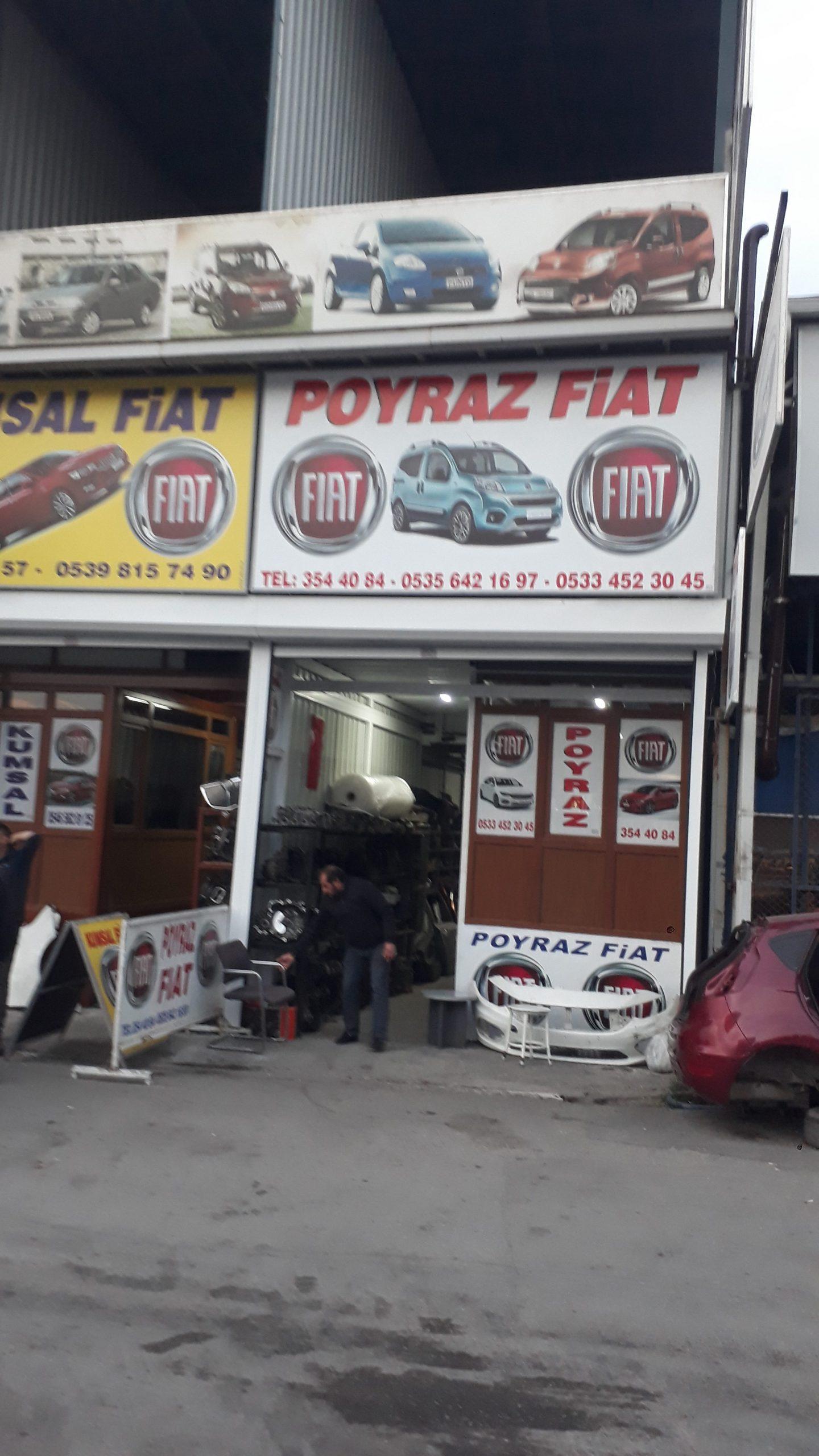 Poyraz Fiat – Fiat Çıkma Parça