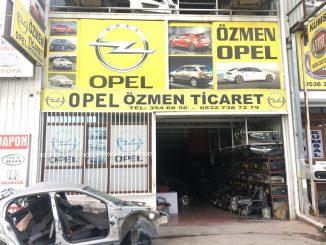 Özmen Opel, Opel Çıkma Parça
